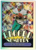 21 Assorted Football Refractor Cards