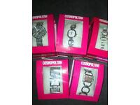 Job Lot 5 Wrist Watches New In Boxes