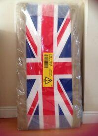 Union Jack Single Bed Headboard