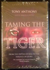 'Taming The Tiger': Kung-Fu Christian Fantasist Biography By Tony Anthony (new)