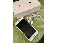 IPHONE 8 + ..UNWANTED UPGRADE IMMACULATE CONDITION WITH HEADPHONES IN BOX