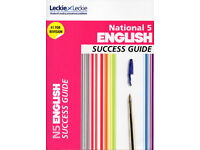 National 5 English Success Guide published by Leckie & Leckie
