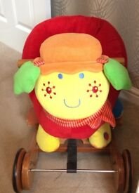 Mamas & Papas Lotty The Ladybird Rock & Ride Baby Toddler Toy 9 months +