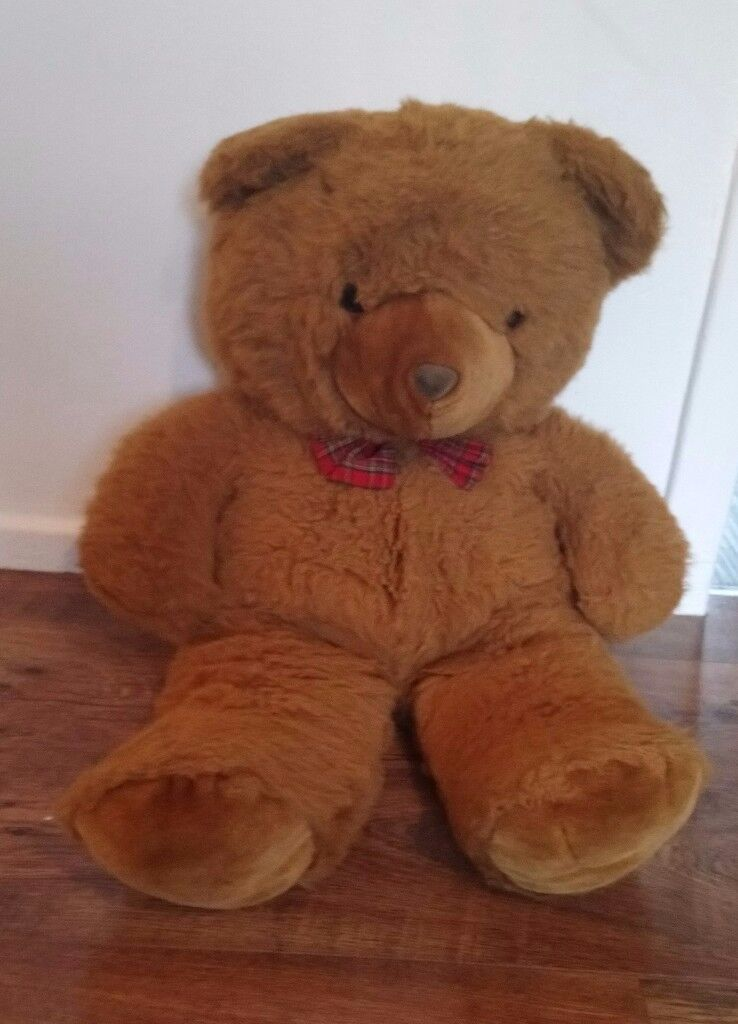 Large Teddy/soft toy. 31inches tall. I also have other soft toys for sale too.