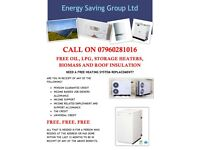 FREE HEATING SYSTEM INSTALLATIONS