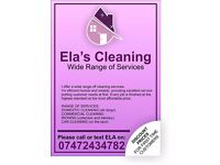 Ela's Cleaning and Ironing