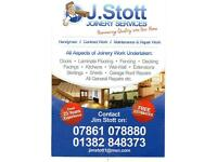 joiner 23 years experience in trade/management, call for free quote,all works considered
