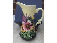 Old Tupton Ware 'Summer Bouquet' 9.5 inch Jug