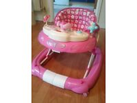 Hello Kitty musical Walk N Rock Baby Walker