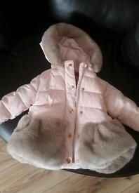12 -18 girls ted baker coat