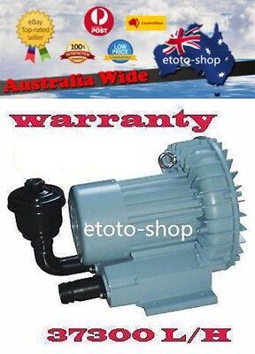 Resun 370W Aquarium Seafood Pond Fish Tanks Air Pump Blower 620L/min
