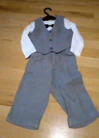 Boys 9-12m suit set H&M