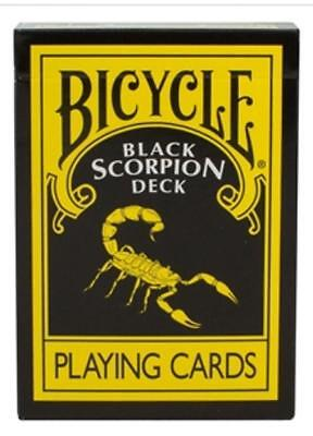 Bicycle MAGIC MAKERS BLACK SCORPION Deck Playing Cards NEW SEALED Gaff 999685