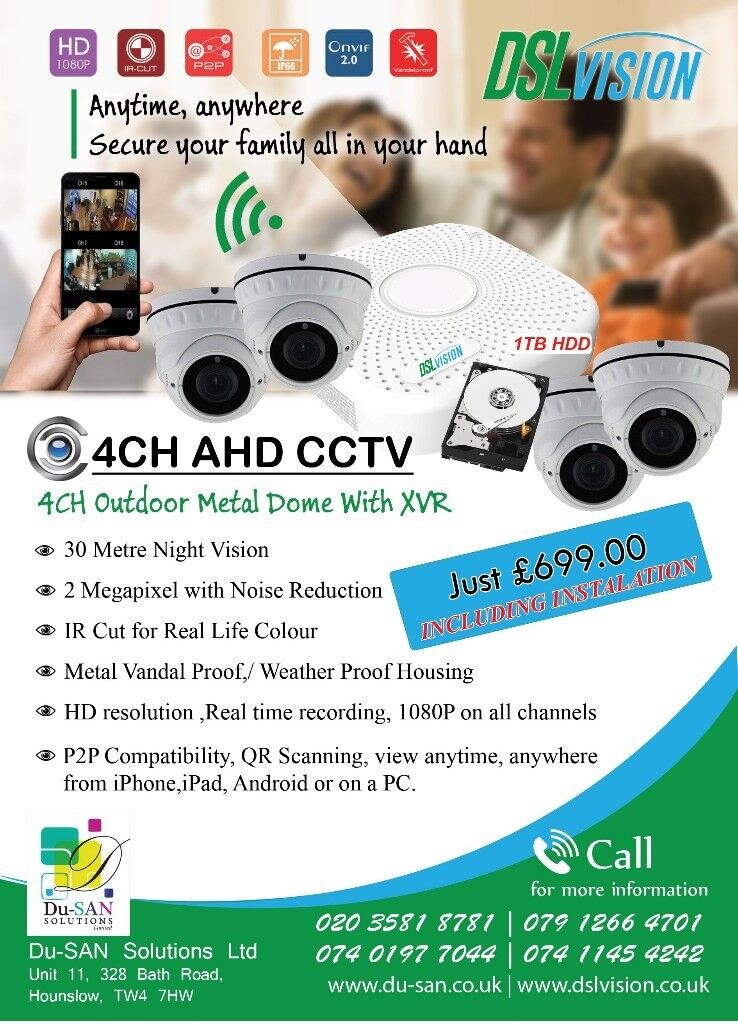 CCTV Camera System/ Alarm System Installations, Internet &