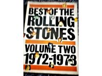 Best Of The Rolling Stones 1972-1973 Volume 2 Guitar Tab Song Book