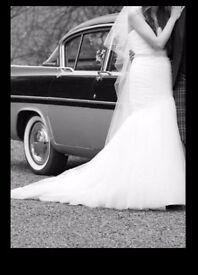 Mori lee mermaid wedding dress