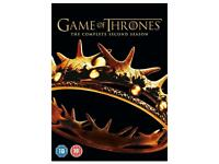 Game of Thrones - Season 2 [DVD] 5 discs GENUINE DISCS