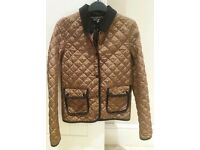 TOPSHOP ANIMAL PRINT LEOPARD PRINT JACKET SIZE 6 COAT