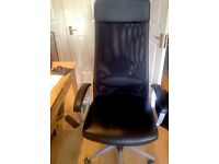 New Ikea MARKUS Swivel Chair