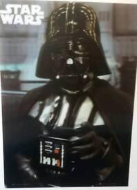 Star Wars Darth Vader 3D poster