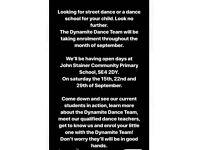 Street dance classes for children