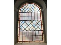 STAINED GLASS CHURCH WINDOW IN 4 Parts