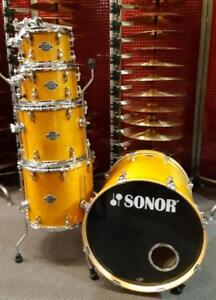 "Sonor Essential Force- shell kit 10-12-14ft-16ft-22bd""  usagé-used"