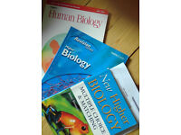 Biology and human biology textbooks for Higher revision