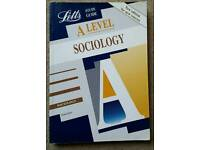 Letts A/S & A Level Sociology Study Guide