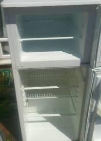 Under counter fridge and fridge and freezer