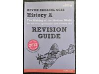 GCSE History Edexel- Revision Guide Textbook - Pearson
