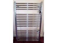 Chrome Plated Ladder Towel Warmer - Unused