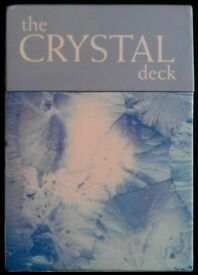 Pack Of 'The Crystal Deck' Reference Cards (boxed)