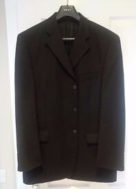 Next Wool Charcoal Suit 44R + 2 Pairs of Trousers 36R