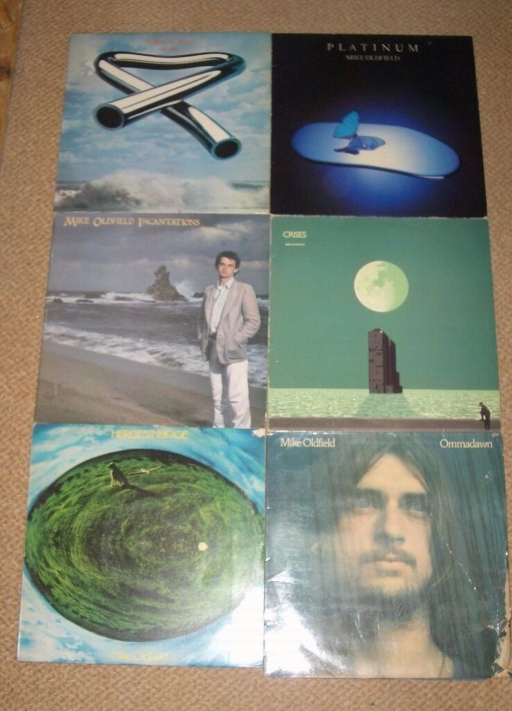 Mike Oldfield LPs