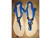 Designer sandles size 5.5 by LV