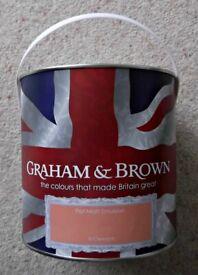 Graham & Brown Flat Matt Emulsion Paint
