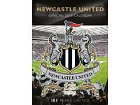 Newcastle United Official 2018 Calendar