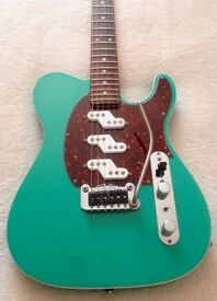 Lovely Leo Fender G&L USA Asat Custom Z3 Electric guitar -A cross between a Strat and a Telecaster