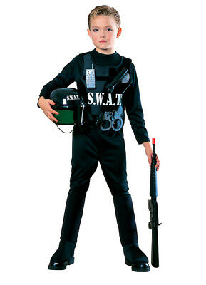 Boys Child Young American Heroes SWAT TEAM Cop - Swat Costumes For Boys