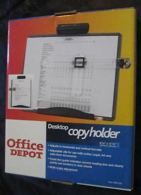 Office Depot Desktop copyholder 9 1/4