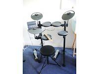 Yamaha DTX400K Electronic Drum Kit (with free stool and sticks)
