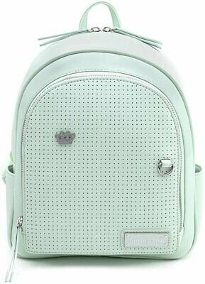 Loungefly Mint Pin Trader Faux-Leather Mini Backpack