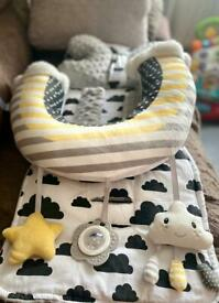 NUBY TUMMY TIME PILLOW BRAND NEW