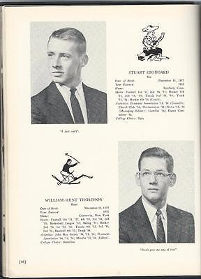 1956 The Westminster School Yearbook Simsbury  Connecticut