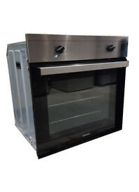 Beko OSF21121X Electric Single Oven in Stainless Steel and Black