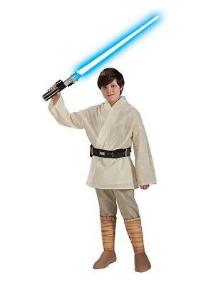 Jungen Kind Star Wars Deluxe Luke Skywalker Kostüm