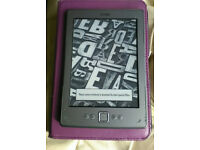 Amazon Kindle (4th Generation) 21GB, WiFi, 6inch Screen, Graphite.
