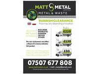 RUBBISH CLEARANCE,RUBBISH REMOVAL,WASTE REMOWAL,JUNK REMOVAL,SCRAP METAL,LONDON