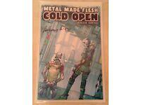 Metal Made Flesh Comic Limited Edition - Cyberpunk Tale